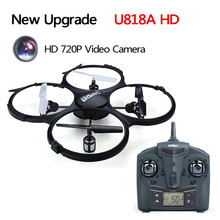 New Upgrade UDI U818A HD rc Drone with Camera 6-axis Gyro Aircraft Radio Control rc Airplane Remote Control Quadcopter