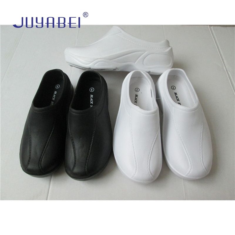 Black Chef Shoes Men's Kitchen Cooking Non-slip Shoes Hotel Restaurant Canteen Cafe Bake Shop Barber Shop Waiter Work Shoes