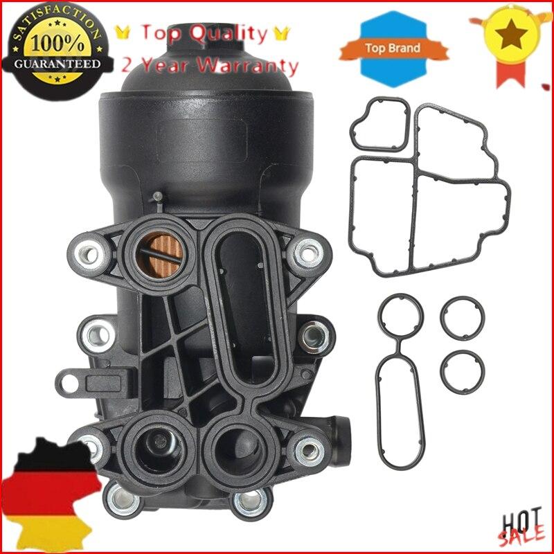 AP01 nuevo 03L115389B 03L115389C 03L115389G 03L115389H carcasa de filtro de aceite para AUDI VW SEAT SKODA 1,6 2,0 TDI nuevo 03L 115 389 B
