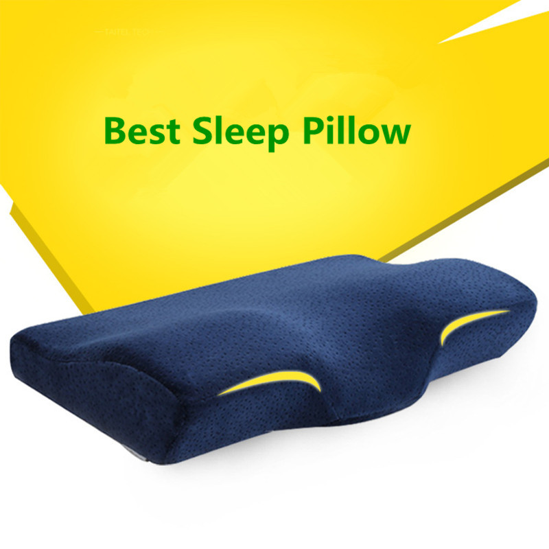 Bed Pillow Support Aliexpress  Buy Best Bed Decorative Pillows Slow Rebound .