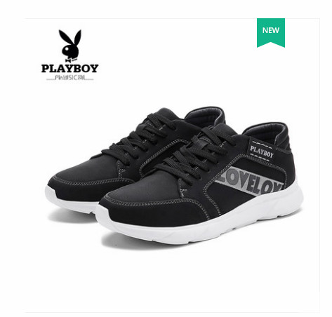 Playboy mens shoes 2018 autumn new youth Korean version of the tide shoes sports casual shoes mens flat bottom shoesPlayboy mens shoes 2018 autumn new youth Korean version of the tide shoes sports casual shoes mens flat bottom shoes