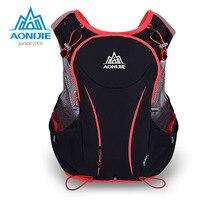 AONIJIE 5L Women Men Marathon Hydration Vest Pack For Water Bag Cycling Hiking Bag Outdoor Sport