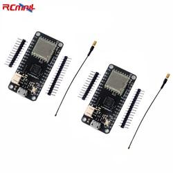 RCmall 2 Sets/lot LoRa32u4 II Lora Development Board Module LiPo Atmega328 SX1276 HPD13 868MHZ with Antenna FZ2863*2+DIY0050*2