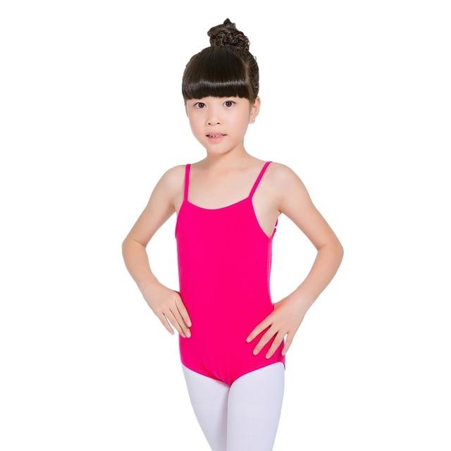 4b19f42f286f Children Ballet Dance Gymnastics Camisole Leotards Little Big Girls ...