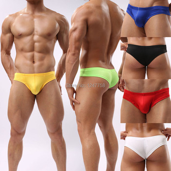 Sexy Men Mini Boxers Underwear Comfy Enhance Bulge Pouch Bikini Boxers mens underwear boxers sexy boxershort фото