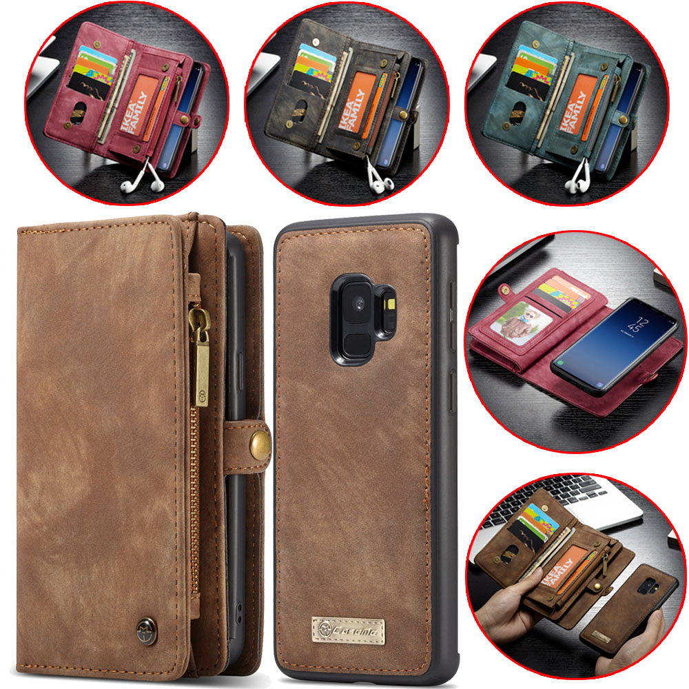 Luxury Leather Wallet Case for Huawei P20 Pro Fashion Card Cover Cases for Samsung Galaxy S9 S8 Plus S7 Edge Note 8 Phone Bag