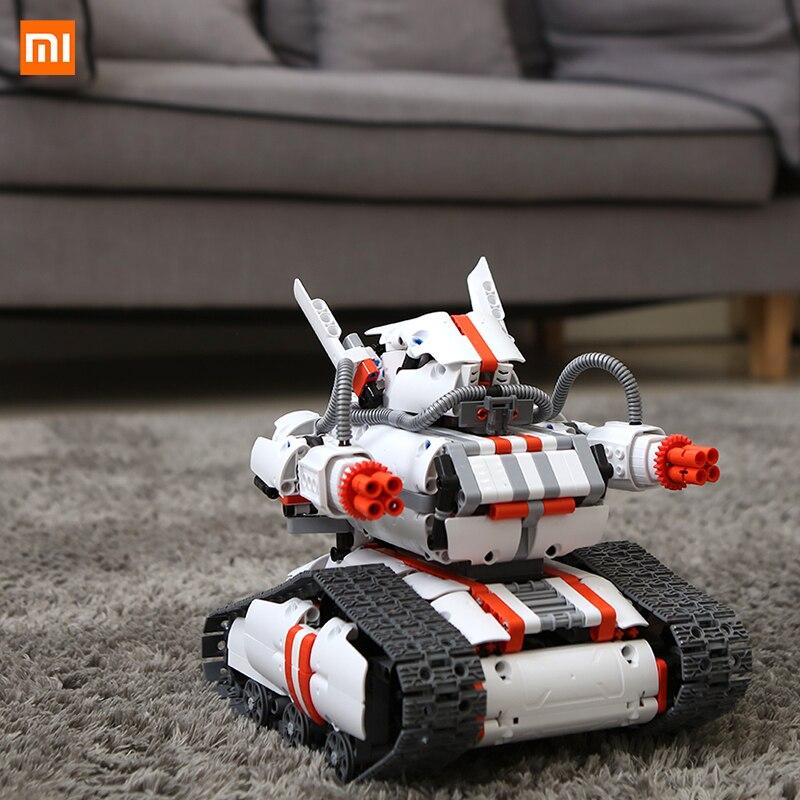 Xiaomi Миту робот строитель DIY строительные блоки Робот строительные и кодирования комплект Bluetooth 4,0 программируемые трек робот комплект APP