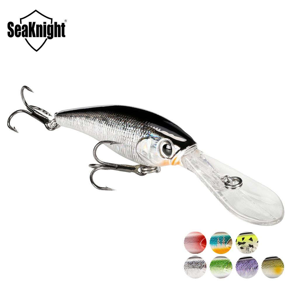 SeaKnight SK006 Fishing Lures Minnow 6.2g 62mm 0-2.5M 1PC Hard Bait Wobblers Minnow Fishing Baits Floating Lure for Carp Fishing