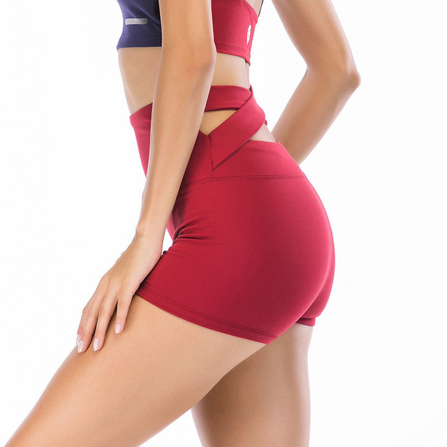Autumn Summer Sport Short For Women Gym Workout Cross Beautiful Buttocks Fitness Athletic Shorts Running Yoga Sportswear 2