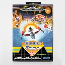 Sega MD games card – Thunder Force 4 with box for Sega MegaDrive Video Game Console 16 bit MD card