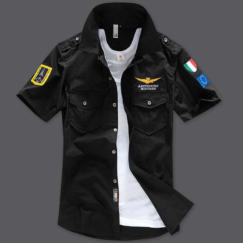 Летняя модная мужская футболка высокого качества, большие размеры, S-6XL, большая Мужская футболка, нашивки в стиле милитари с коротким рукавом, стиль панк, футболка для мужчин