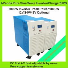 Peak 9KW,home inverter 3000W DC12V/24V/48V Pure Sine Wave Inverter, Off Grid Tie Inverter, Solar Power Inverter  supermarket