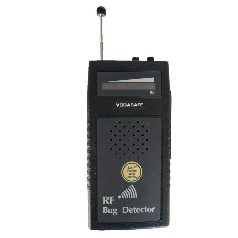 RF Bug Detector with Voice Display Laser-assisted direction indication Anti wiretapping Camera Detector  Laser Direction Guide