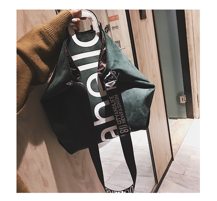HTB1W9Zsh9zqK1RjSZPxq6A4tVXaG - New Large-capacity Velvet Handbag Fashion Lady Letter Shoulder Crossbody Bag High Quality Women's Shopping Bag Tote