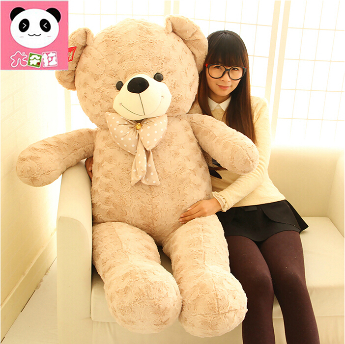ФОТО Giant Large Size Teddy Bear Plush Toys Stuffed Toy Lowest Price Birthday gifts Christmas Baby Toy Kawaii Toy