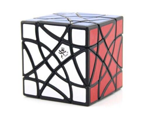 DaYan Double hirondelle cubique maître Cube magique torsion Puzzle noir Shuang Fei Yan