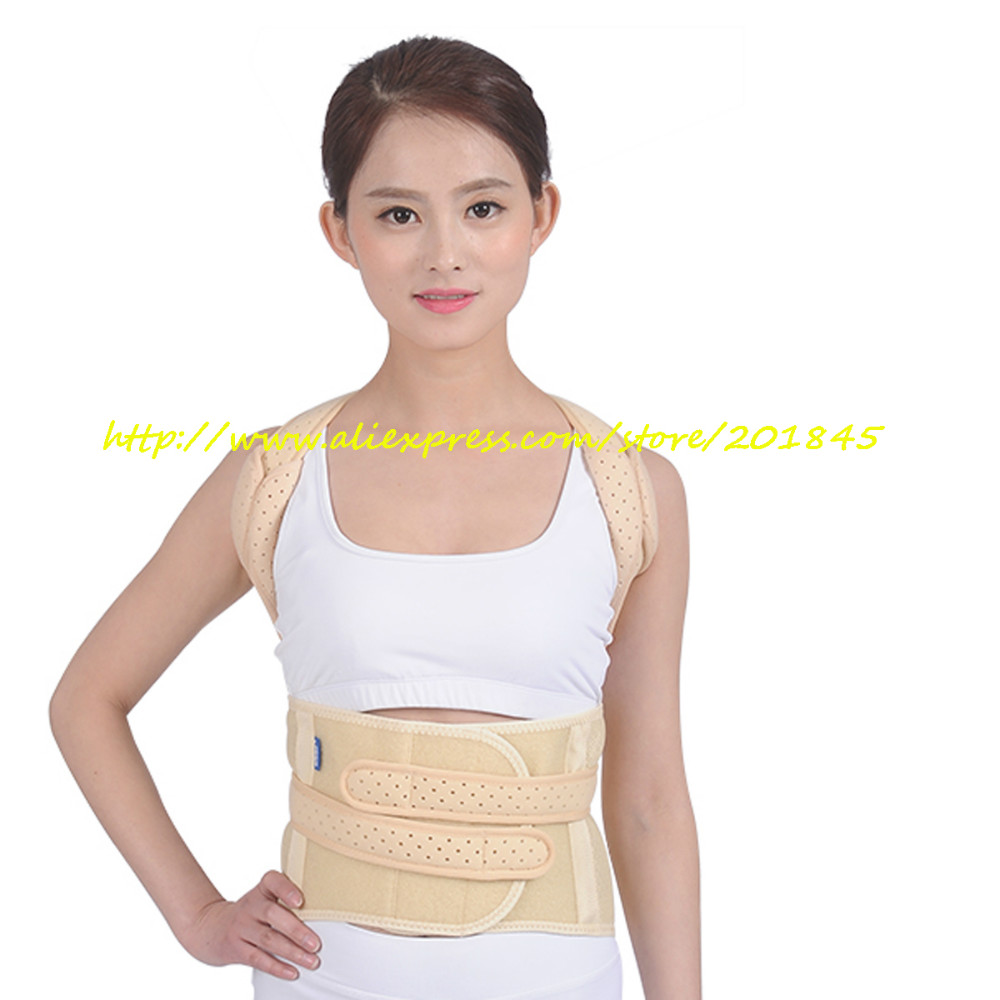 Women Posture Correction Braces Back Shoulder Support Belt Chest Corrector Straightener Strap For Female Body Health Care back posture correction belt for children beige