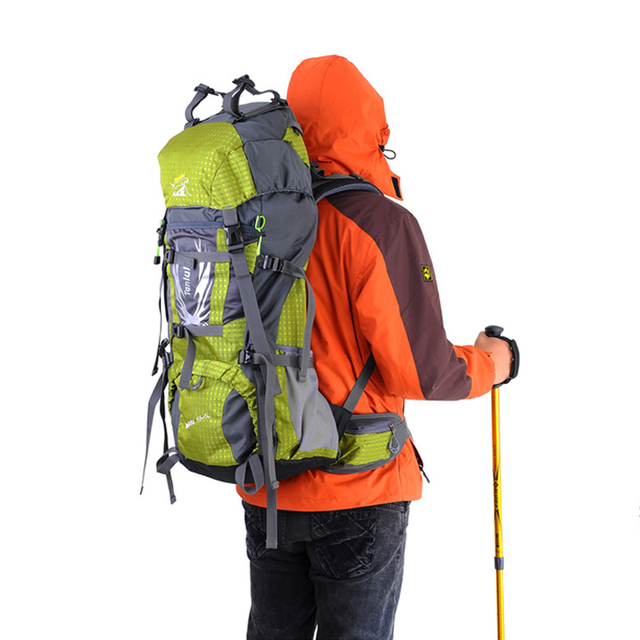 Waterproof High-density 600D Oxford Cloth Tactical Outdoor Bag Side Nylon Plug Designed To Carry Alpenstock Mats Tents BA160109