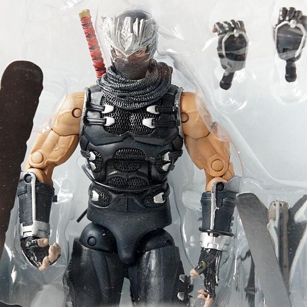 "Neca Ninja Gaiden 2 Ryu Hayabusa Player Select Action Figure New in Box 7/"" 18cm"