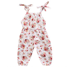 Newborn Baby Kids Girl Infant Clothes Floral Cute Romper Toddler Girls Summer Cotton Clothes Outfits