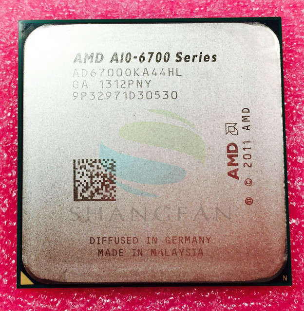 NEW shipping for A10-6700 A10 6700 A10 6700K A10-6700K  3.7Ghz 65W Quad-Core CPU Processor AD6700OKA44HL AD67000KA44HL SocketFM2