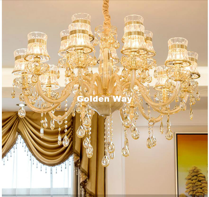 Free Shipping Modern Decora  Champagne White Crystal Chandelier LED Candelabro for Coffee Shop Bar Kid Modern Crystal ChandelierFree Shipping Modern Decora  Champagne White Crystal Chandelier LED Candelabro for Coffee Shop Bar Kid Modern Crystal Chandelier