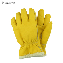 Low Temperature Resistant Gloves Liquid Nitrogen LNG Natural Gas Ice Storage Antifreeze Thick Warm  Cold Gloves for Adult цена