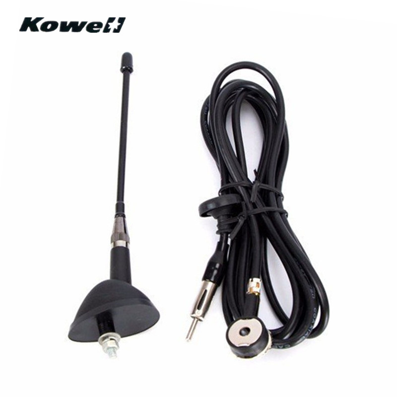 KOWELL Fibreglass Universal Car Auto Roof Fender Radio Antenna FM/AM Signal Booster Amplifier Aerials Whip Mast for VW for KIA fender am spec tele rw sgm