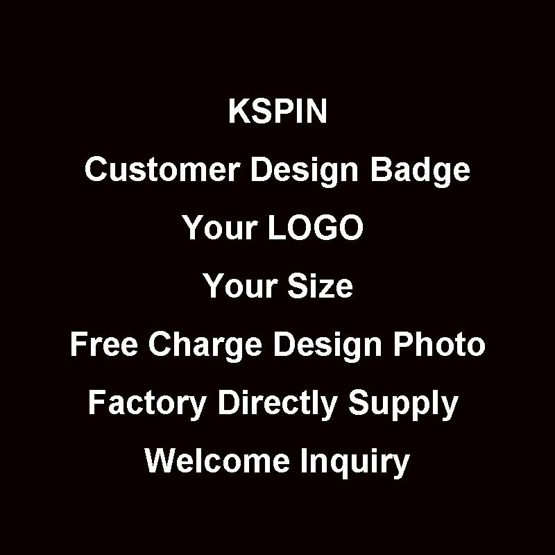 Customer Own Logo Badge for John