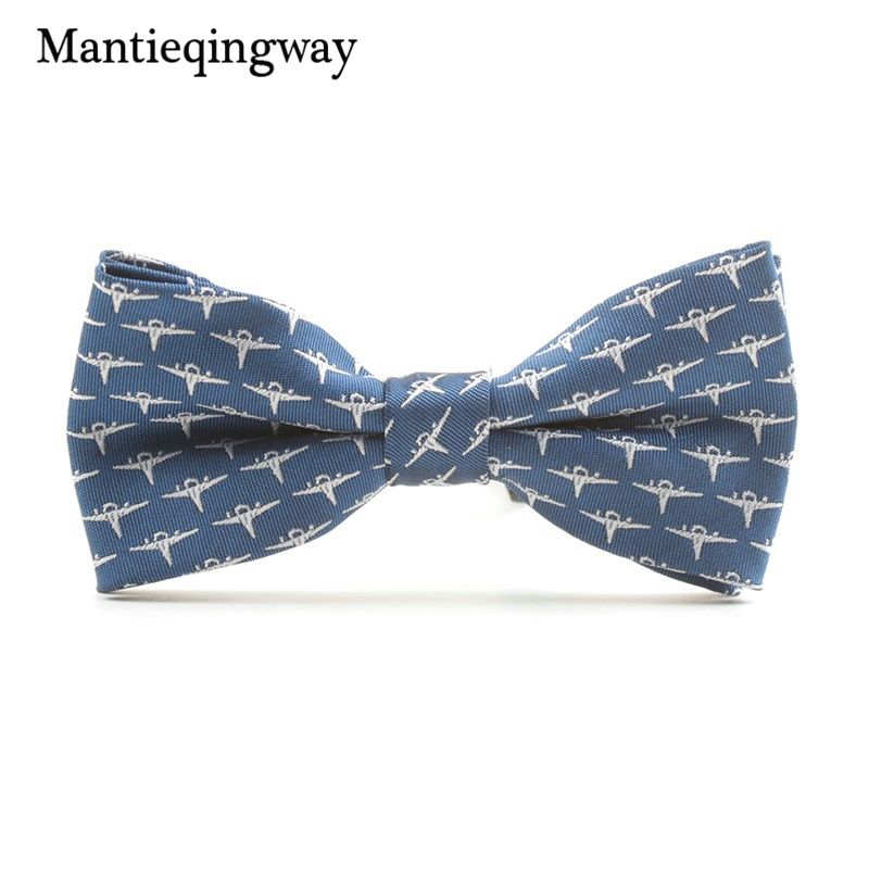 Mantieqingway Children Bow Ties for Baby Boys Suits Striped Pattern Collar Bowtie for Boys Girl Kids Skinny Tie for Party