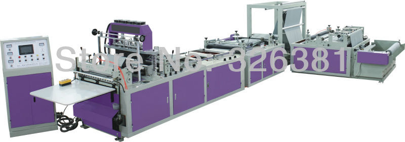 600 - Type Non-woven Fabric Environmental Protection Bag Making Machine Bag Making Machine Bag Making Machine