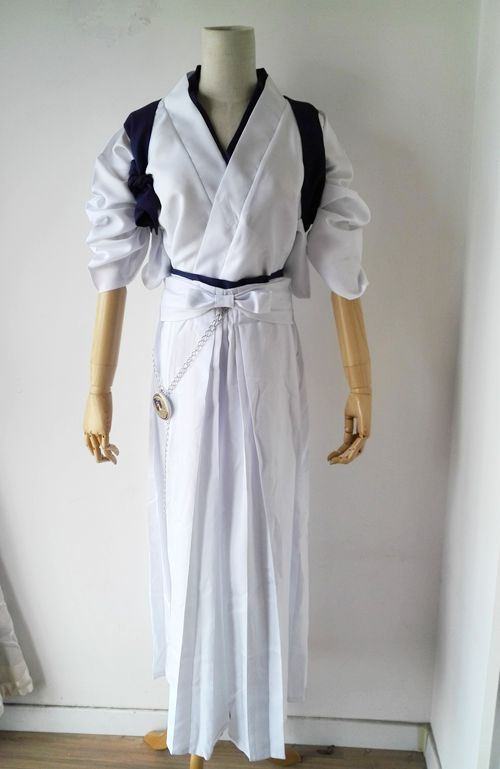 Hommes Tsurumaru Kuninaga Kimono Halloween Cosplay Costume pour fête rôle Cosplay mâle Touken Ranbu vêtements en ligne 18