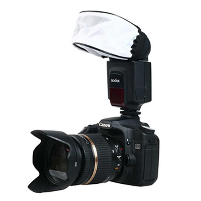 Đèn LED Máy Khuếch Tán Mềm Hộp Tản Sáng Softbox 4 Màu cho Máy Ảnh Canon Nikon Sony Yongnuo Flash Godox Flash Viltrox DSLR trên Camera Speedlite Phụ Kiện