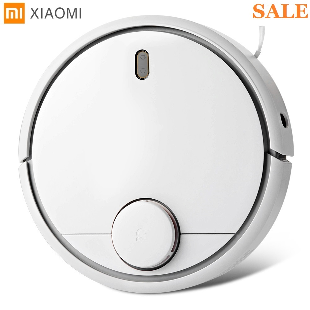 Original Xiaomi Smart Robot Vacuum Cleaner 1st Generation App Remote Control Auto Charge 2 in 1 Sweep 5200mAh For Home Office цена