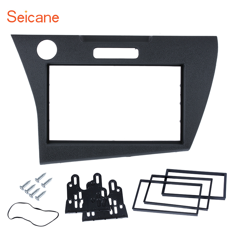 Seicane 178*100mm 2Din Car Audio Frame Install Dash Bezel Trim Kit surround DVD CD Refit Panel For Honda CRZ (LHD)Seicane 178*100mm 2Din Car Audio Frame Install Dash Bezel Trim Kit surround DVD CD Refit Panel For Honda CRZ (LHD)