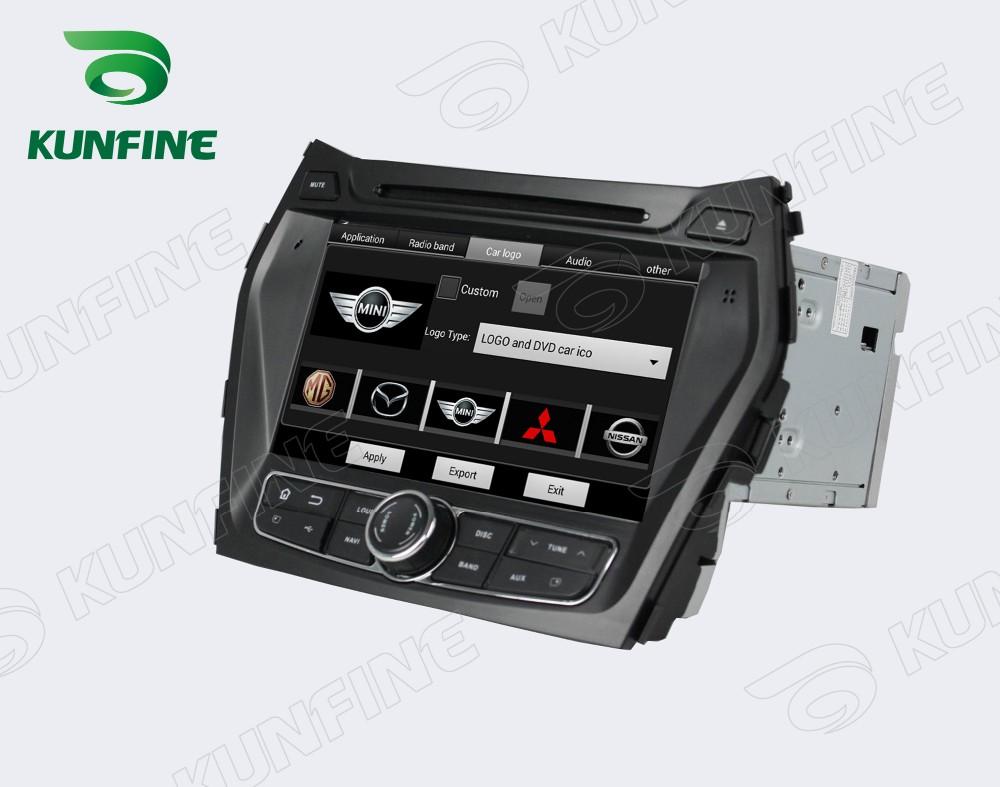 Car dvd GPS Navigation player for IX45 2013  8 inch D