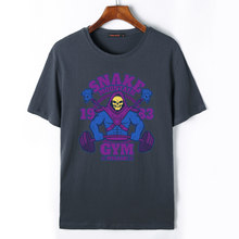 1672bc53995 He-Man and the Masters of the Universe Men T Shirt Skeletor Printed Mens Summer  Short Sleeve Cotton Fashion Clothing Top Tees