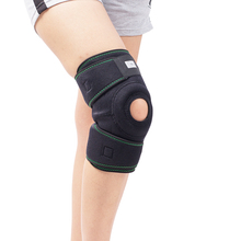 Free Shipping Neoprene Breathable Knee Support Adjustable Knee Patella Brace Protector Cap Stabilizer Strap for Meniscus цена 2017