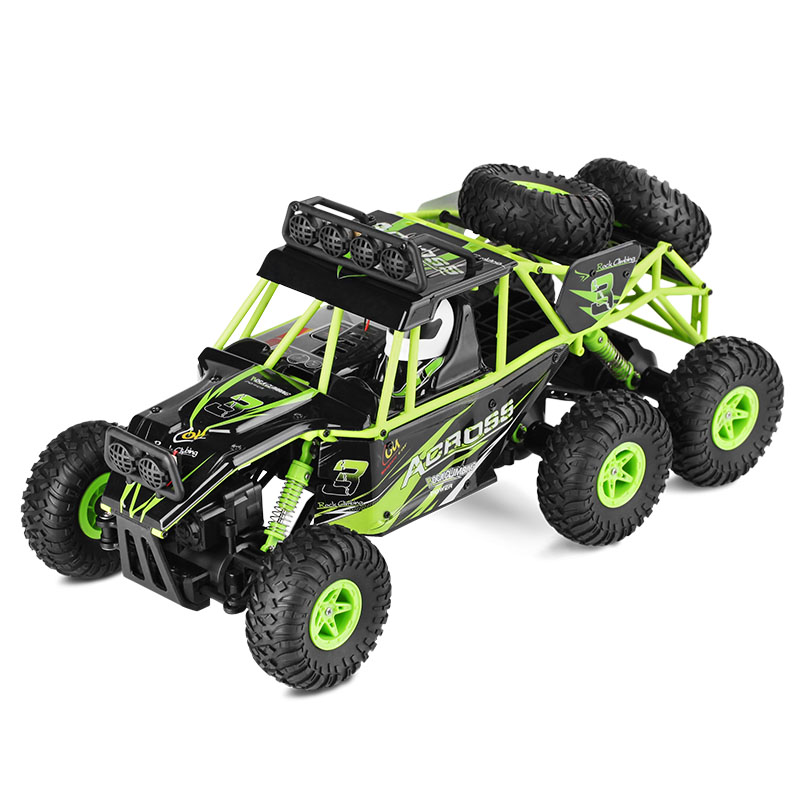 Wltoys Original 1:18 RC Car 6WD Electric Climbing Monster Toy High Speed SUV Rock Rover Remote Control Radio Machine Racing Cars wltoys k969 1 28 2 4g 4wd electric rc car 30kmh rtr version high speed drift car