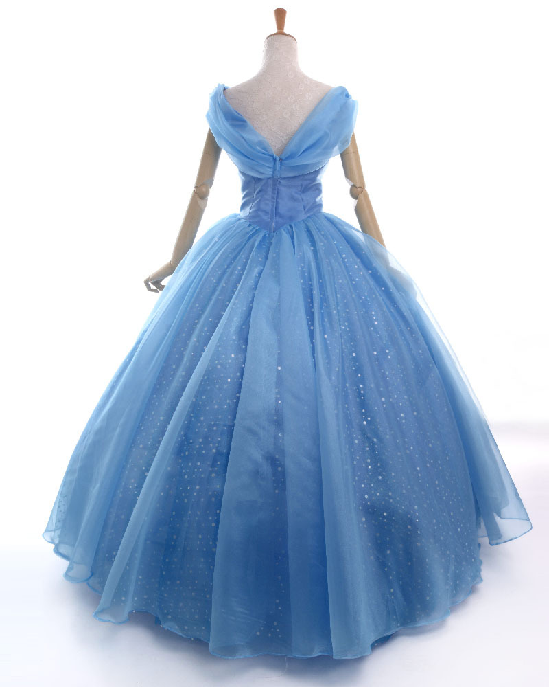 Movies cinderella 2015 costume adult princess cosplay party Prom ...