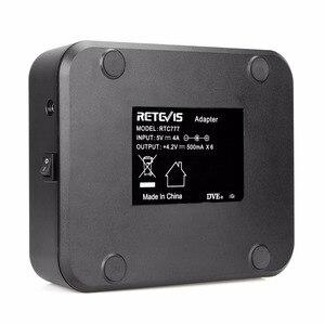Image 4 - Зарядное устройство Retevis RTC777, шестистороннее зарядное устройство с многоцелевой защитой для Baofeng 888S, зарядное устройство для рации Retevis H777/H777 Plus