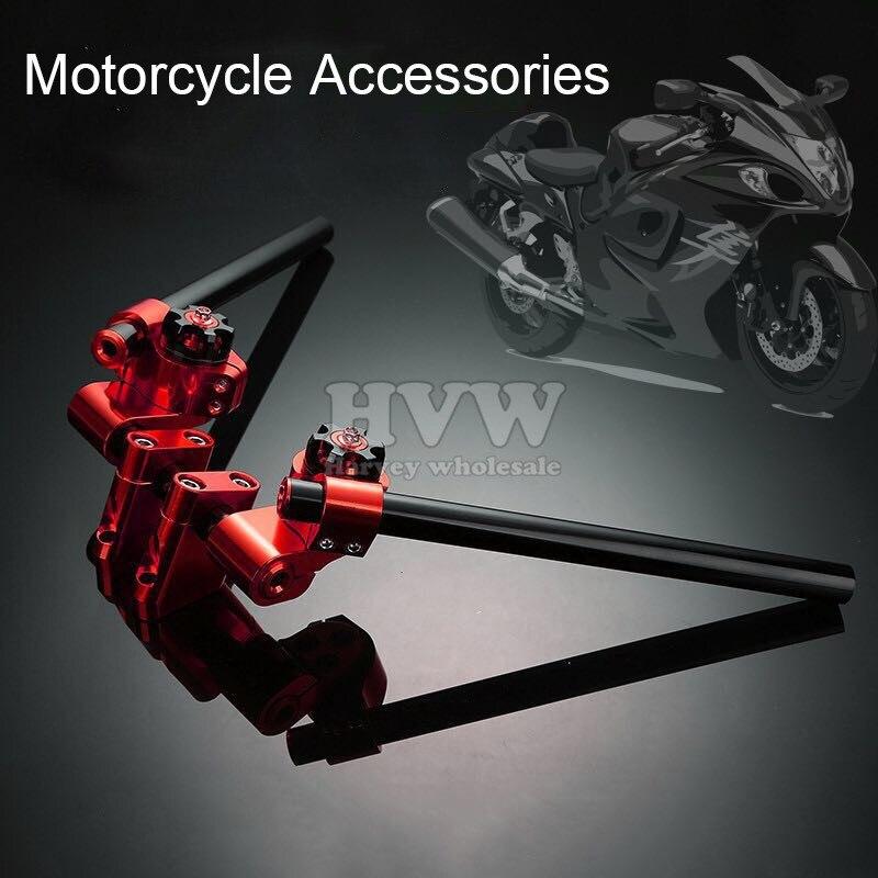 CNC Motorcycle  Adjustable Steering Handle Bar Removable Handlebar for kawasaki z125 15-16 yamaha m-slaz 15-16 tmax500 tmax530