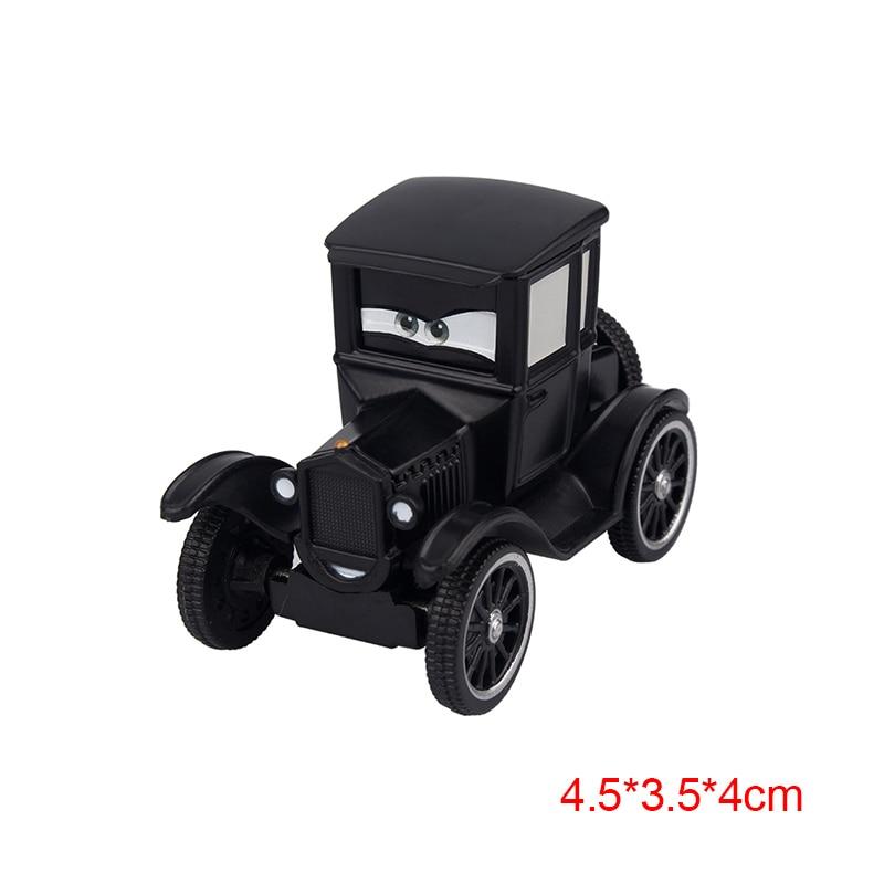 Дисней Pixar Тачки 2 3 Молния Маккуин матер Джексон шторм Рамирез 1:55 литье под давлением автомобиль металлический сплав мальчик малыш игрушки Рождественский подарок - Цвет: Cars-Lizzie-8cm