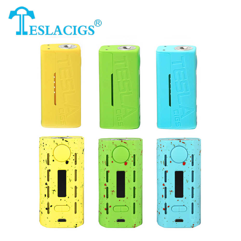 Original Tesla WYE TC Box MOD with 200W/80W max huge power supports VW/TC/TCR modes no 18650 battery Electronic Cigarette Mod