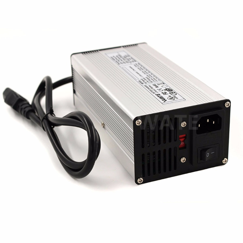 Cargador inteligente de batería LiFePO4 de 29,2 V y 12A de 24V para Robot LiFePO4 de 8S y 24 V, Cargador eléctrico de batería para silla de ruedas - 4