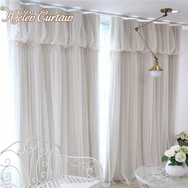 Fabulous Helen Vorhang Moderne Schichten Romantische Spitze Tll Vorhnge  With Vorhnge Romantisch