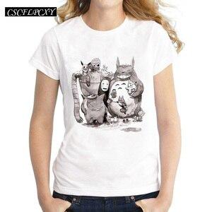 Женская футболка с рисунком, Повседневная белая футболка с 3D принтом, Летняя коллекция 2016