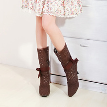 2014 free shipping women's fashion sexy hollow shoes women fine with large size 35-43 black shoes beige brown XY052