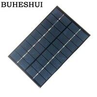 Buheshui 4.2 w 9 v 다결정 태양 전지 패널 태양 전지 태양 광 모듈 태양 광 발전 6 v 배터리 충전기 200*130*2mm freeshipping