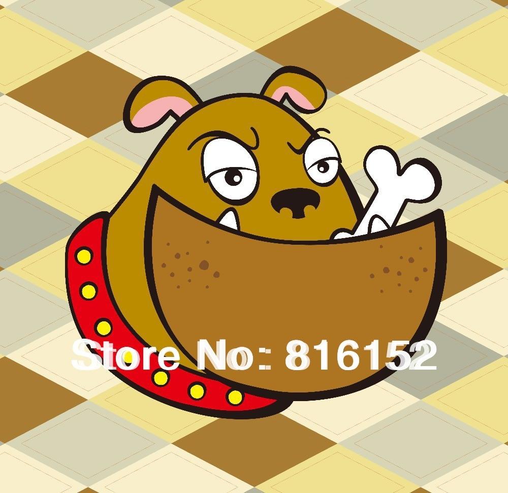 Animal Head Cartoon Graffiti Dog Monkey Canvas Paintings Kid\'s Room ...